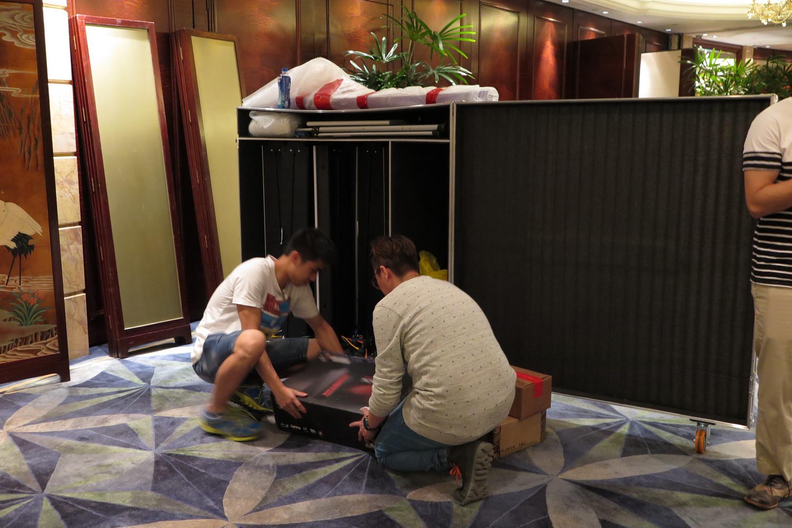 JW Marriott Hoteldebuting QHuman by OepnSky TFI 5