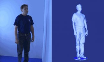 Qhuman + Intel RealSense  | depth sensor body scan-to-avatar