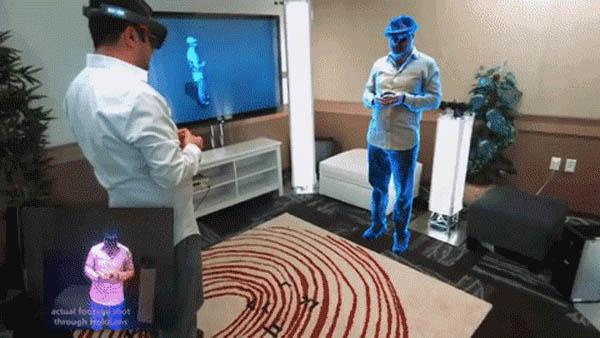 Qhuman + Microsoft HoloLens   further mixing reality