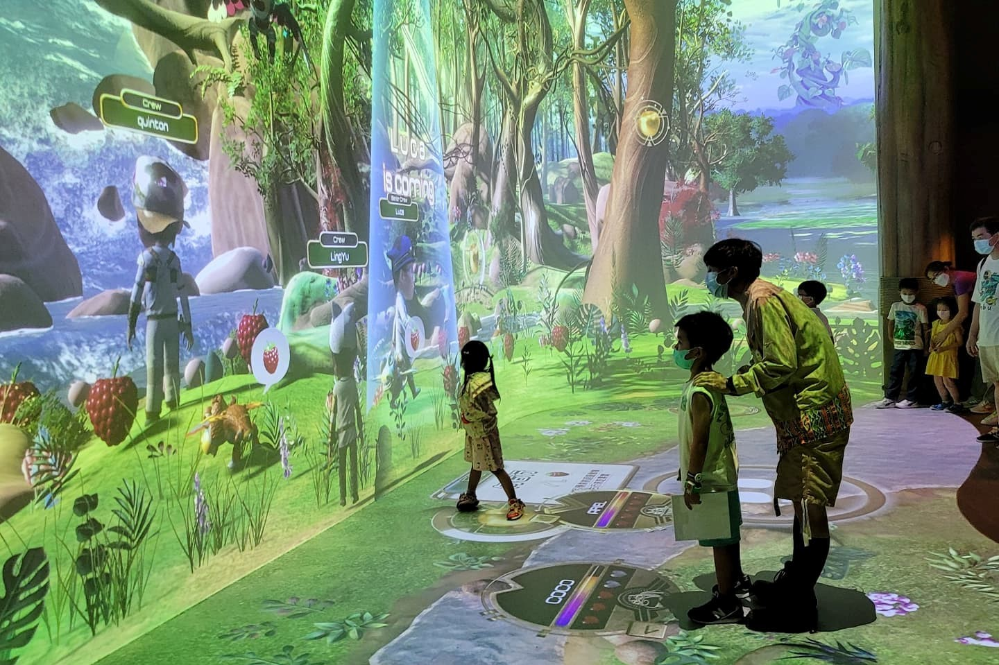 Avatar technology brings in New Immersive Learning Experience for Kids @Ocean Park 9
