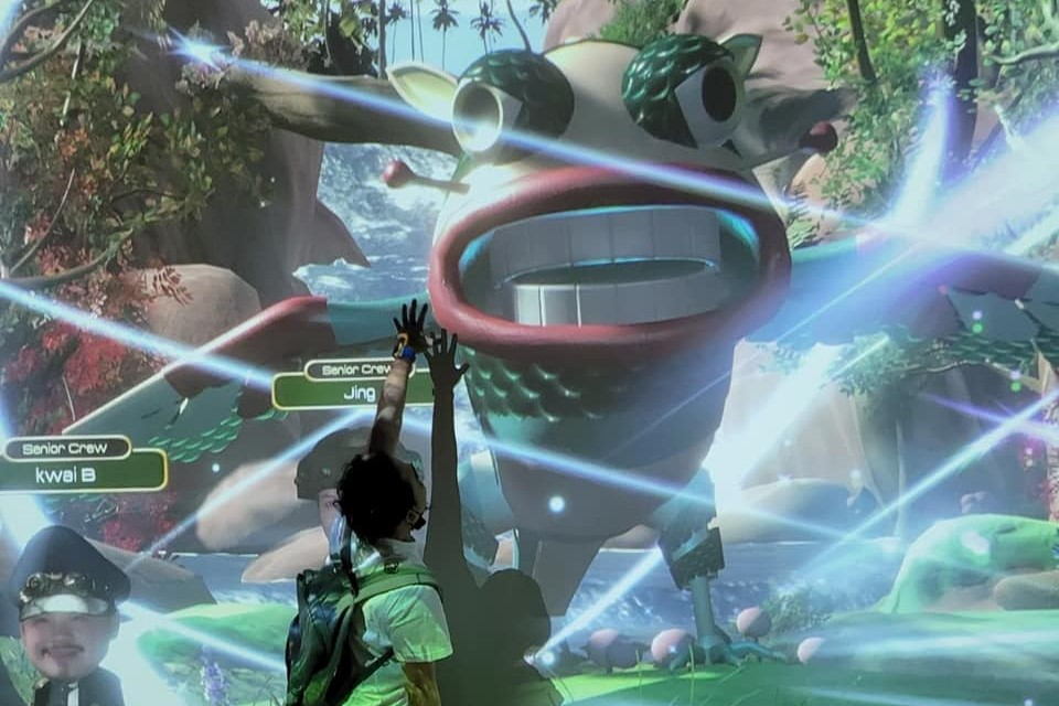Avatar technology brings in New Immersive Learning Experience for Kids @Ocean Park 8