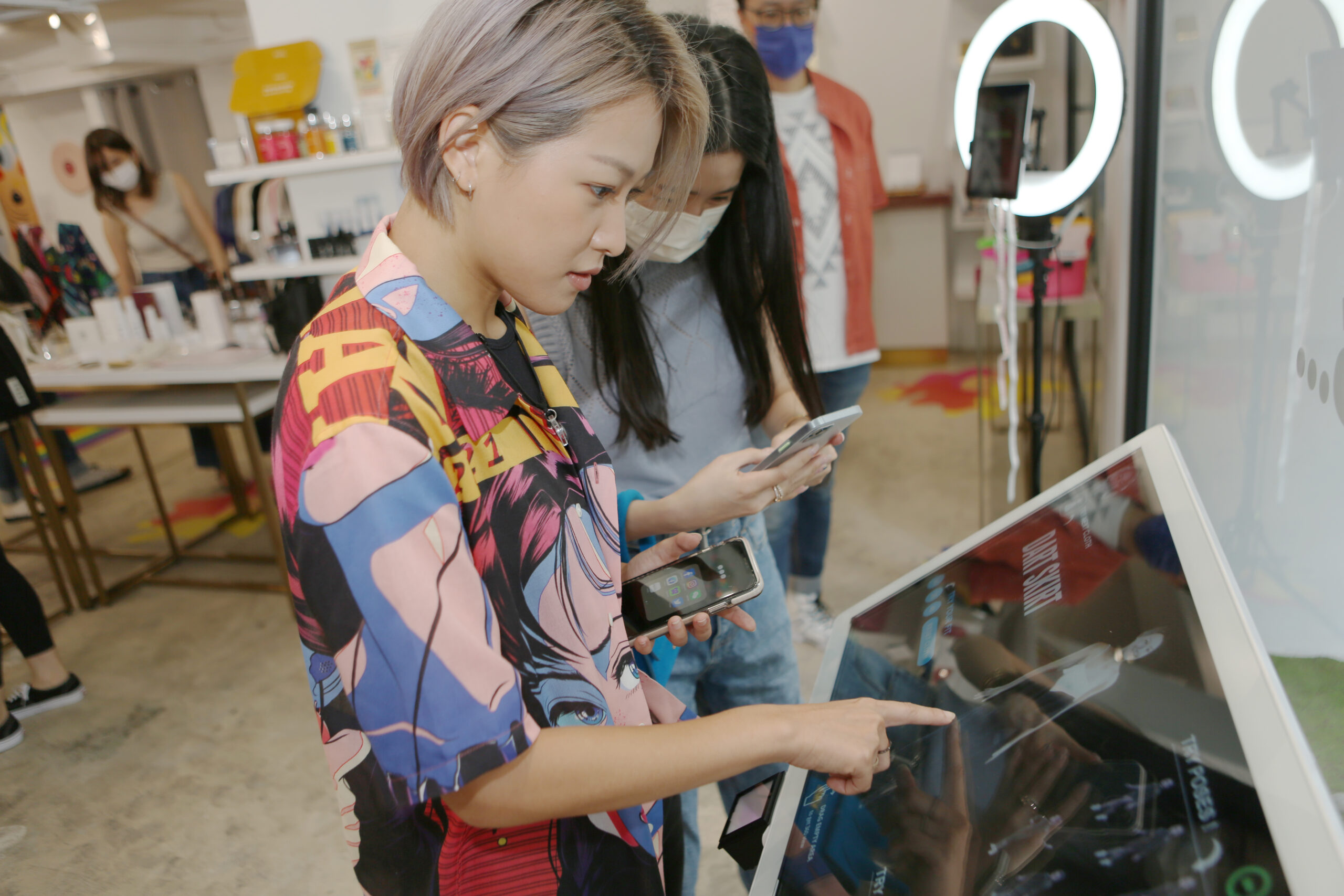 One-stop shopping experience in sustainable fashion, from fitting to manufacturing @WSNXT 6