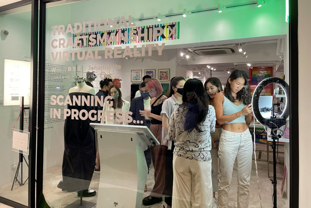One-stop shopping experience in sustainable fashion, from fitting to manufacturing @WSNXT 3