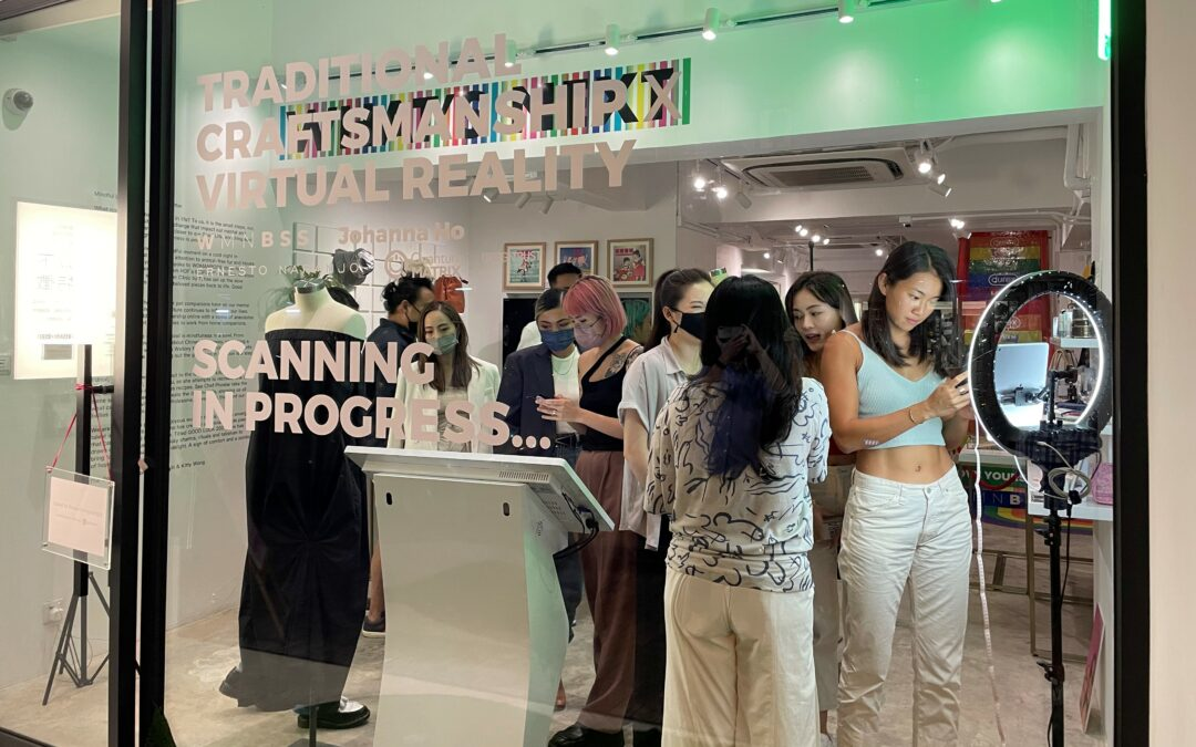 One-stop shopping experience in sustainable fashion, from fitting to manufacturing @WSNXT