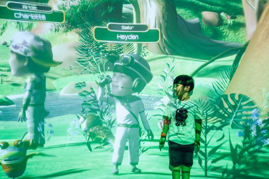 Avatar technology brings in New Immersive Learning Experience for Kids @Ocean Park 2